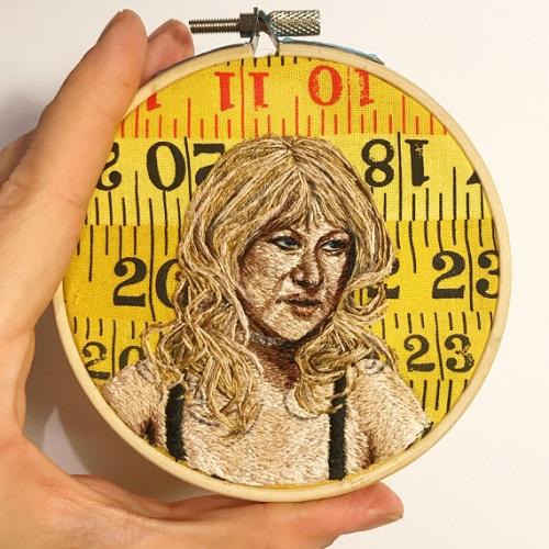 Jess_de_Wahls_Embroidery Helen Mirren