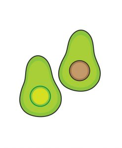 avocado temporary tattoos