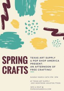 spring crafts with pop shop america and texas art supply_small