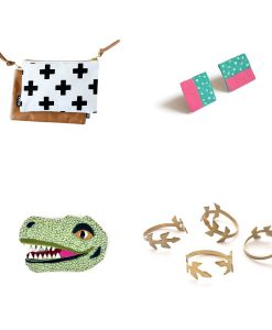 collage for handmade jewelry subscription box pop shop america