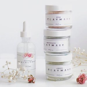 mud masks by lovely made in texas body care