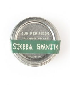 sierra granite solid men's cologne by juniper ridge