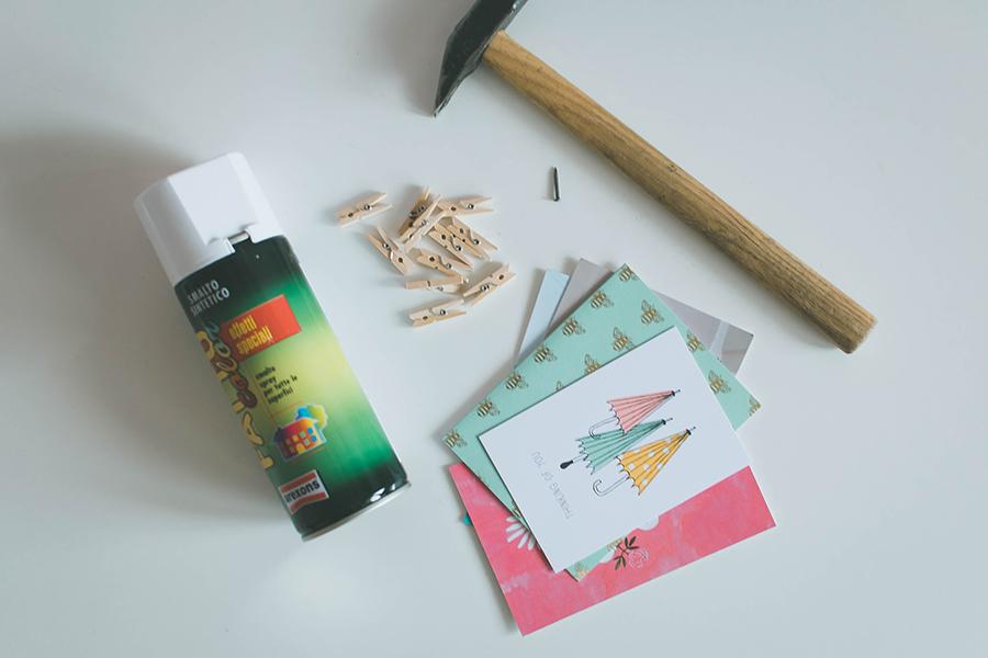 DIY Grid Mood Board Materials