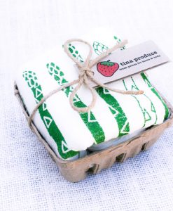 asparagus tea towel cute kitchen gifts