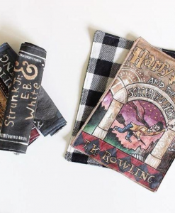 harry potter sorcerer's stone book coin purse