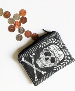 tales of mystery and imagination by edgar allen poe book coin purse