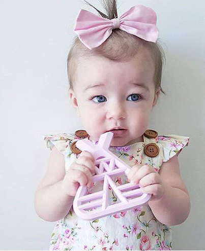teepee teether by three hearts apparel