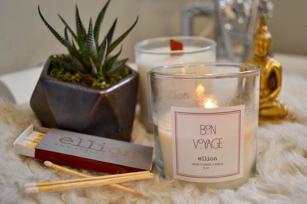 bon voyage candle by ellion pop shop america