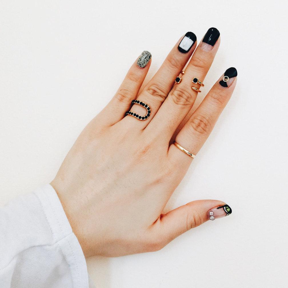 layered rings boho jewelry shop etsy