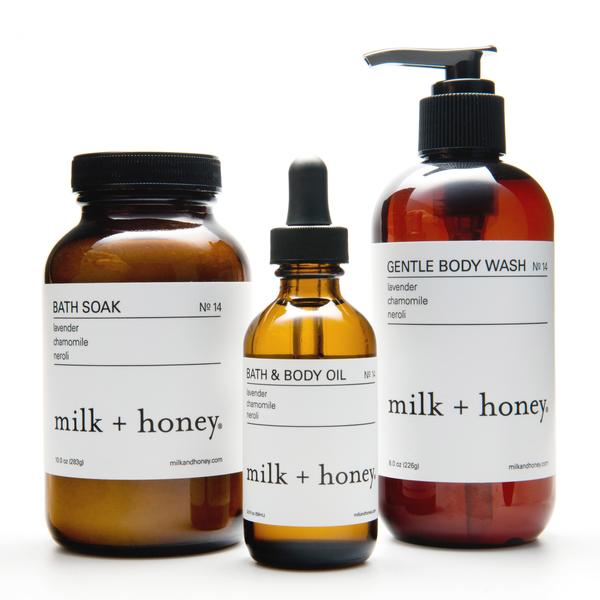 milk + honey spa handcrafted beauty products