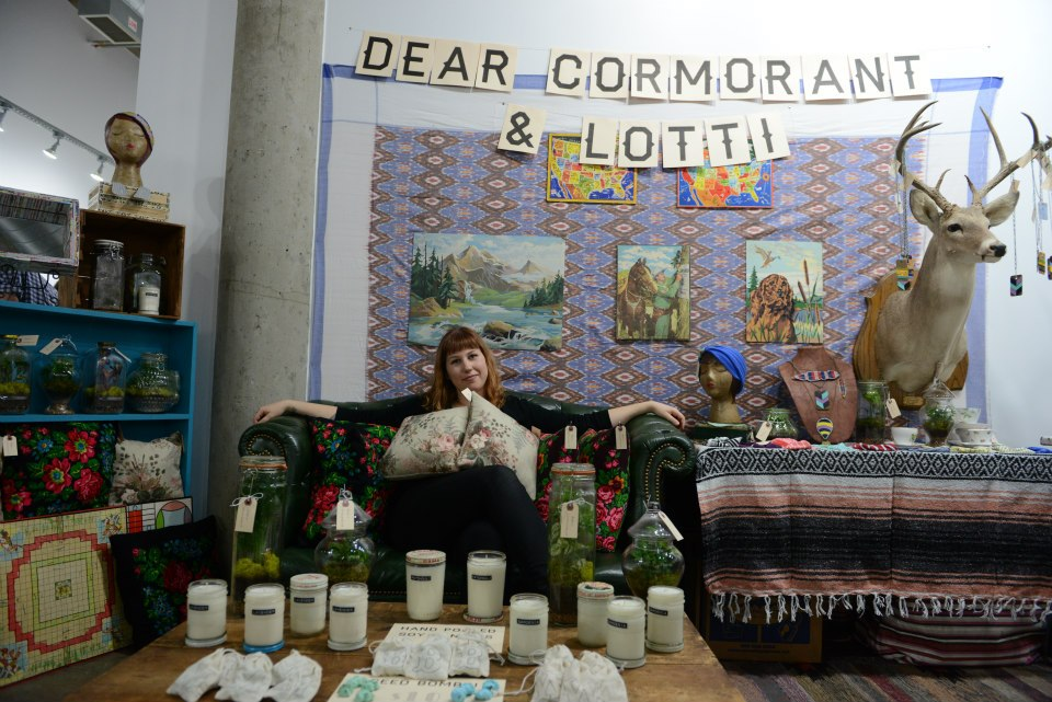 pop shop america indoor craft fair booth inspiration