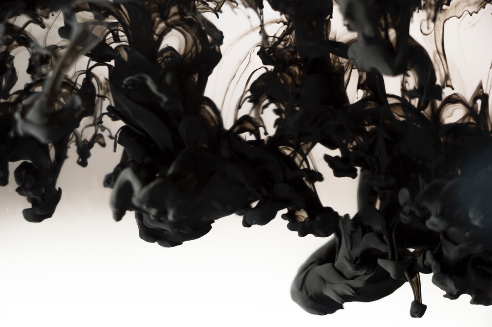 black dye - how to dye flowers black pop shop america diy