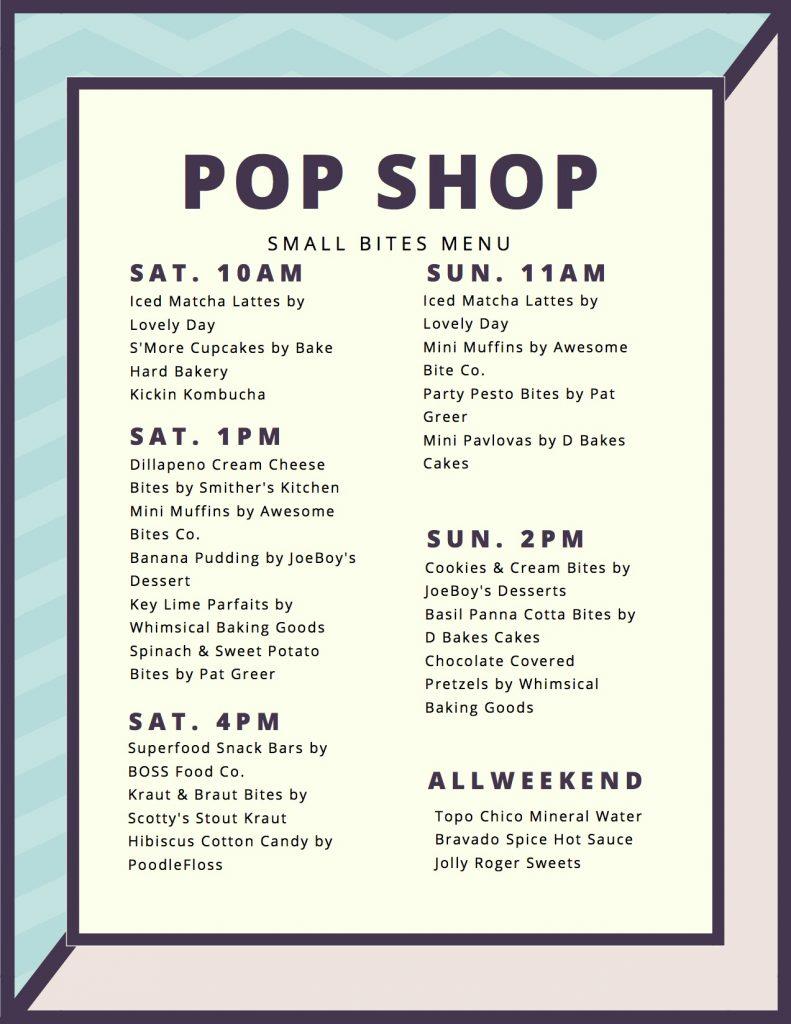 pop shop summer 2017 small bites menu jpg