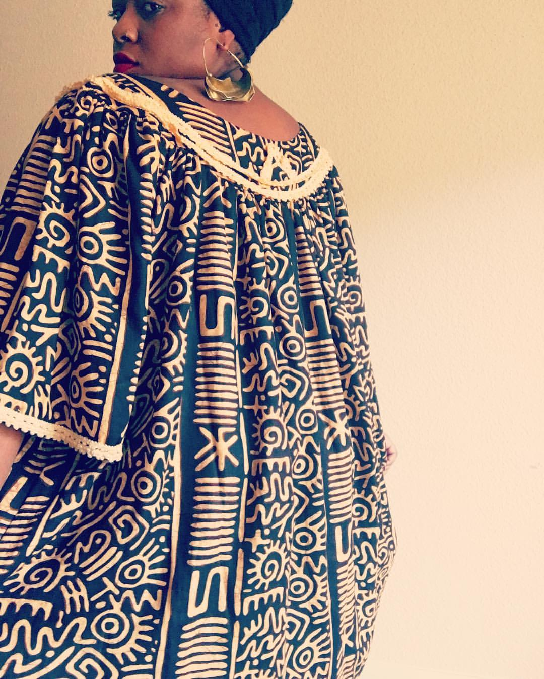 tribe and sol best vintage houston caftan